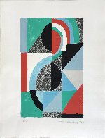 Oriflamme 1967 Limited Edition Print by Sonia Delaunay - 1