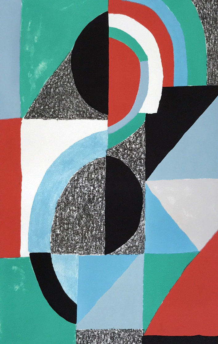 Oriflamme 1967 Limited Edition Print by Sonia Delaunay
