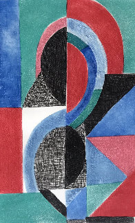 Avec Moi Meme 1970 Limited Edition Print by Sonia Delaunay