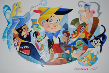 Pinocchio's World 1998 Limited Edition Print by Robert de Michiell