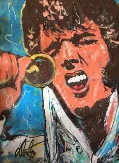 Elvis Presley 1993 77x58 Original Painting - Denny Dent
