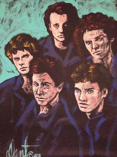 Loverboy 1983 48x36 Huge Original Painting - Denny Dent