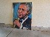 Frank Sinatra 1993 51x70 Original Painting by Denny Dent - 1