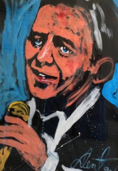 Frank Sinatra 1993 51x70 Original Painting by Denny Dent