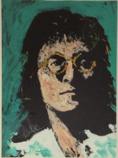 John Lennon 1982 50x38  Original Painting - Denny Dent