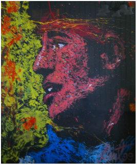 Bruce Springsteen 1999 82x64 Original Painting - Denny Dent