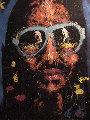 Stevie Wonder '96 68x53 Original Painting - Denny Dent