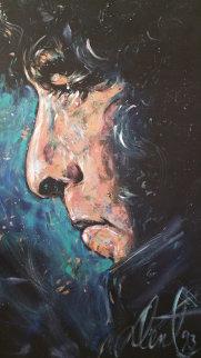 Bob Dylan 1993 68x48 Original Painting - Denny Dent