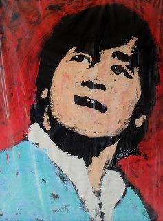 John Lennon 1982 53x41 Original Painting by Denny Dent