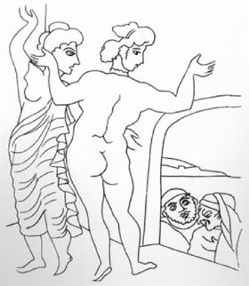 Le Satyricon   1951 Limited Edition Print - Andre Derain