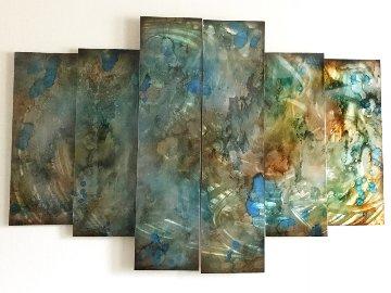 Dream 48x62 Huge Original Painting - Chris DeRubeis