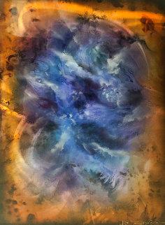 Nebula 36x24 Original Painting - Chris DeRubeis