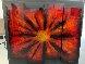 Red Burst 2012 38x45 Original Painting by Chris DeRubeis - 2