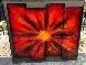 Red Burst 2012 38x45 Original Painting by Chris DeRubeis - 1