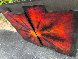 Red Burst 2012 38x45 Original Painting by Chris DeRubeis - 4