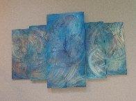 Abalone 48x72 Super Huge Original Painting by Chris DeRubeis - 0