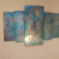 Abalone 48x72 Super Huge Original Painting by Chris DeRubeis - 2