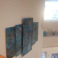 Abalone 48x72 Super Huge Original Painting by Chris DeRubeis - 4