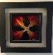 Mini Burst - Red 2015 20x20 Original Painting by Chris DeRubeis - 1