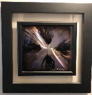 Mini Burst - Purple 2015 20x20 Original Painting by Chris DeRubeis - 1