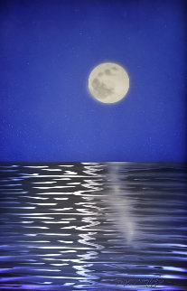 Blue  36x24 Original Painting by Chris DeRubeis