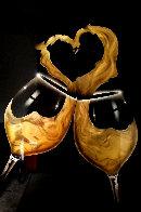 I Love Wine 36x24 Original Painting by Chris DeRubeis - 0
