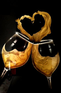 I Love Wine 36x24 Original Painting - Chris DeRubeis