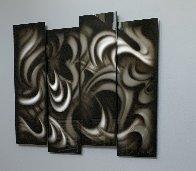 Platinum (Four Panels) 2013 35 in Original Painting by Chris DeRubeis - 1