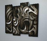 Platinum (Four Panels) 2013 35 in Original Painting by Chris DeRubeis - 2