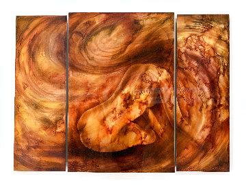 Within the Wind 2010 36x48 Huge Original Painting - Chris DeRubeis