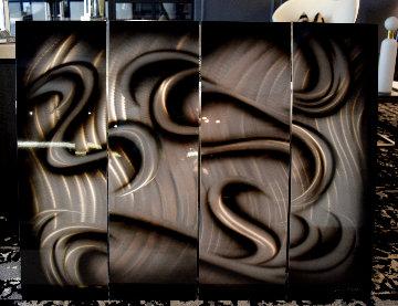 Platinum 2019 35x44 - 4 Panels Original Painting - Chris DeRubeis