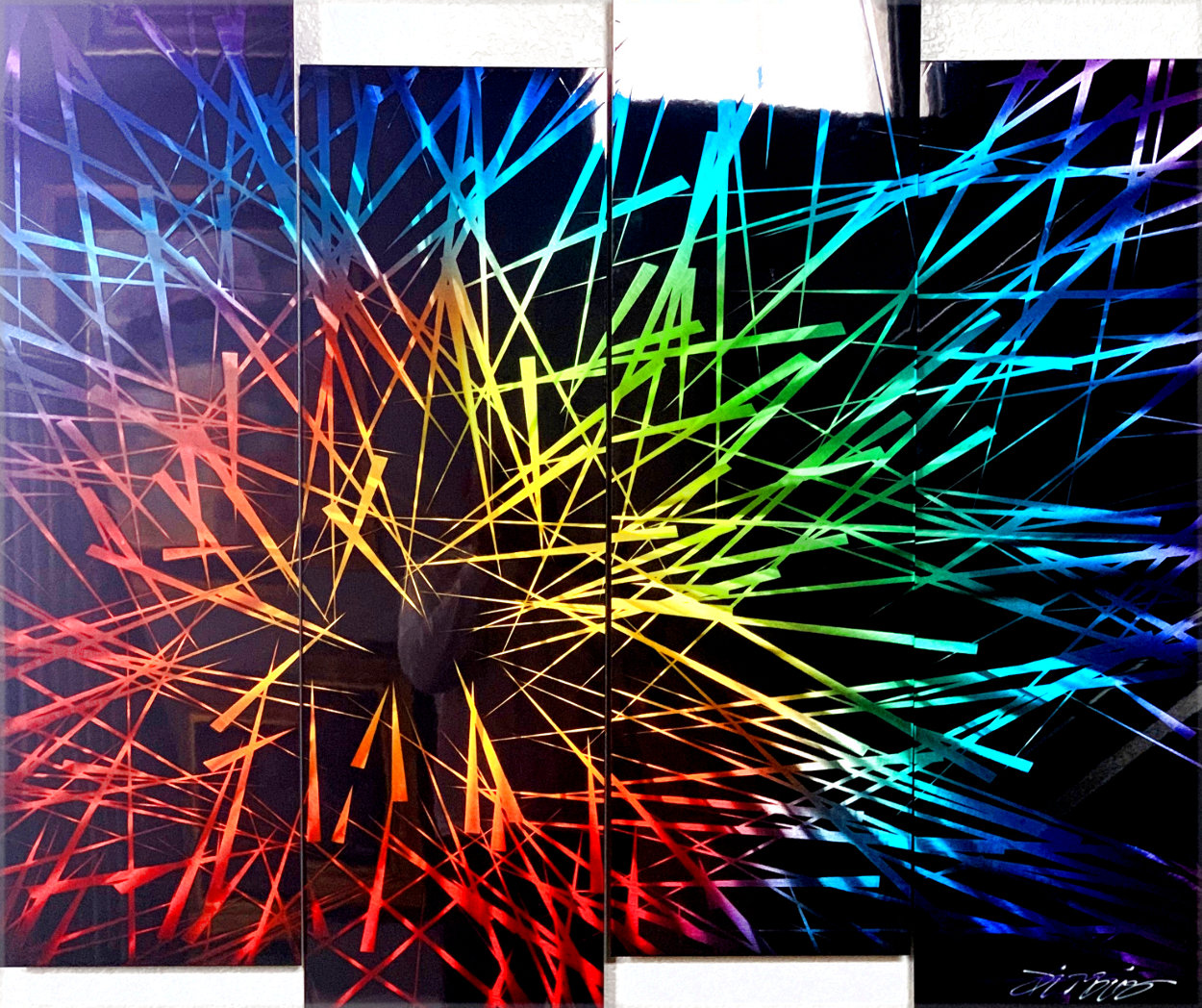 Spectrum 2020 36x48 Unique - Huge Other by Chris DeRubeis