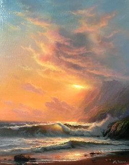 Radiance 14x11 Original Painting by William DeShazo
