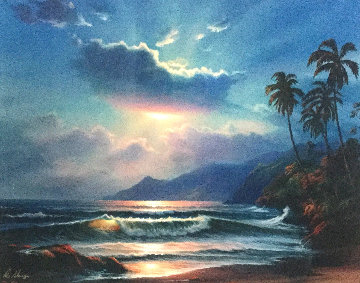Hawaiian Splendor Limited Edition Print - William DeShazo
