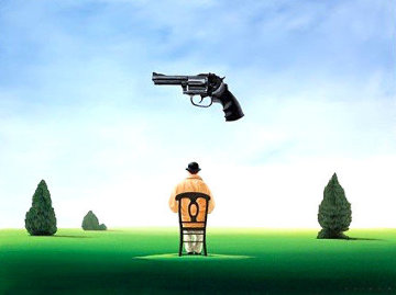 Under the Gun Limited Edition Print - Robert Deyber