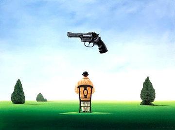 Under the Gun Limited Edition Print by Robert Deyber