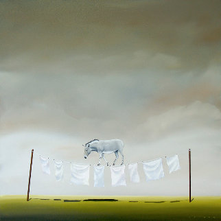 My Ass is on the Line Limited Edition Print by Robert Deyber