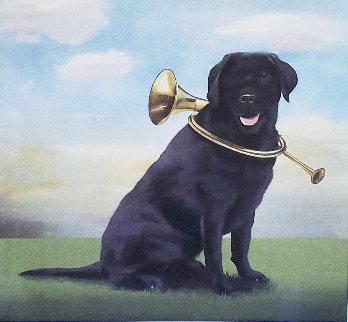 Horn Dog 2011  Limited Edition Print by Robert Deyber