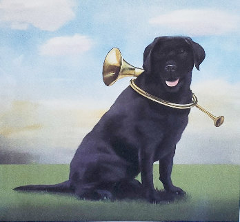 Horn Dog 2011  Limited Edition Print by Robert Deyber