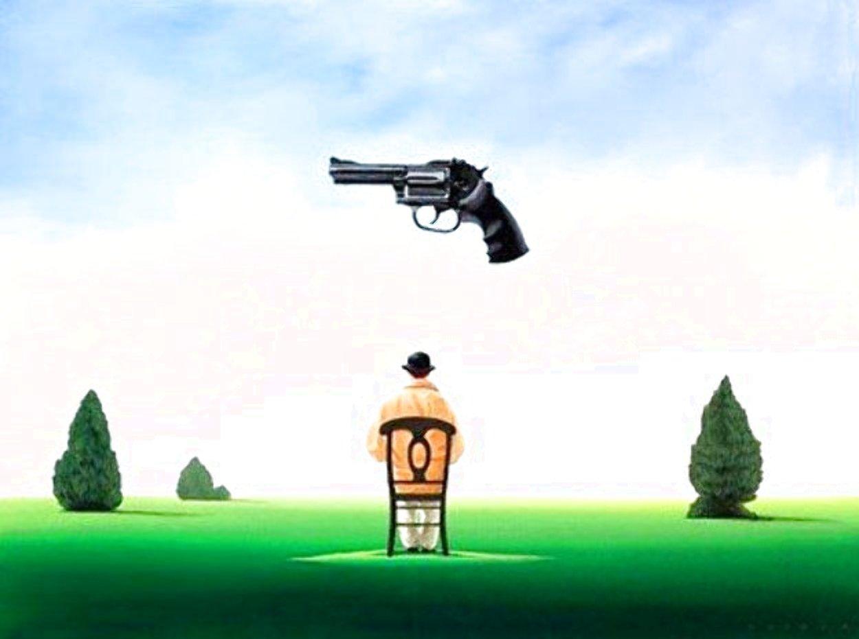 Under the Gun 2007 Limited Edition Print by Robert Deyber