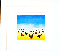 Pecking Order 2007 Limited Edition Print by Robert Deyber - 2