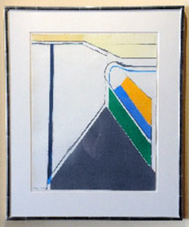 Untitled (Ocean Park Series) Limited Edition Print - Richard Diebenkorn