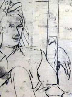 C.J.D. 1990 Limited Edition Print - Richard Diebenkorn