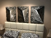 Untitled Mixed Media Set of 3 Wall Sculptures 1995  Sculpture by Laddie John Dill - 1