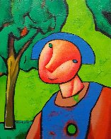 Untitled Painting 2000 20x16 Original Painting by Dimitri Strizhov - 0