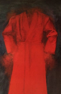 Red Bathrobe Poster 1976 HS Limited Edition Print - Jim Dine