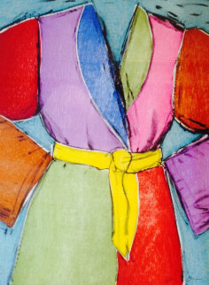 Yellow Belt 2005 Limited Edition Print by Jim Dine