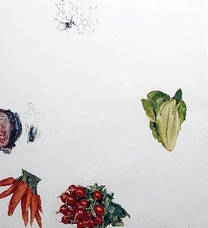 Vegetables #6 1970 Limited Edition Print - Jim Dine