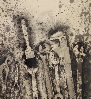 New French Tools 3 - For Pep  1984 Limited Edition Print by Jim Dine
