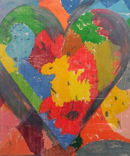 Using White Over Black 2017 Limited Edition Print by Jim Dine